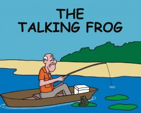 A talking frog tells a fisherman to pick her up and kiss her. The frog promises that she'll turn into the woman of his dreams. Now that's a tempting offer!