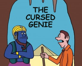 A cursed genie grants a man three wishes, but the three wishes have undesirable consequences. There must be a solution to this dilemma!