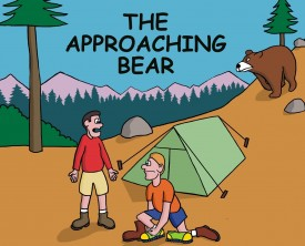 A bear rapidly approaches their campsite. You would think the two campers would run like the wind, but one of them stops to change his shoes. Is he crazy?