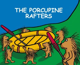 A porcupine who is a manager decides to take his staff on a team building exercise. He probably should have picked another activity.
